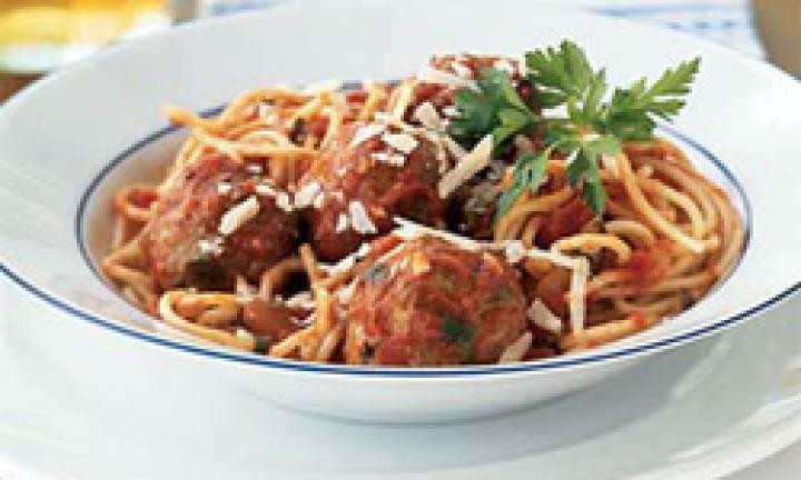 Healthy Spaghetti And Meatballs  Meatballs Kidspot