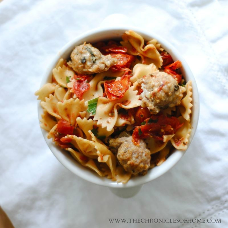 "Healthy Spaghetti And Meatballs  Healthy ""Spaghetti and Meatballs"" The Chronicles of Home"