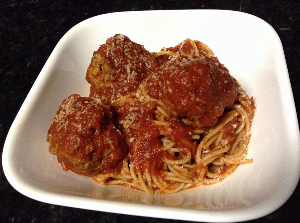 Healthy Spaghetti And Meatballs  Healthy Spaghetti and Meatballs