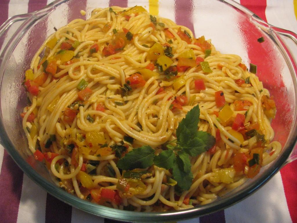 Healthy Spaghetti Recipes  Vegan Spaghetti Pasta recipe