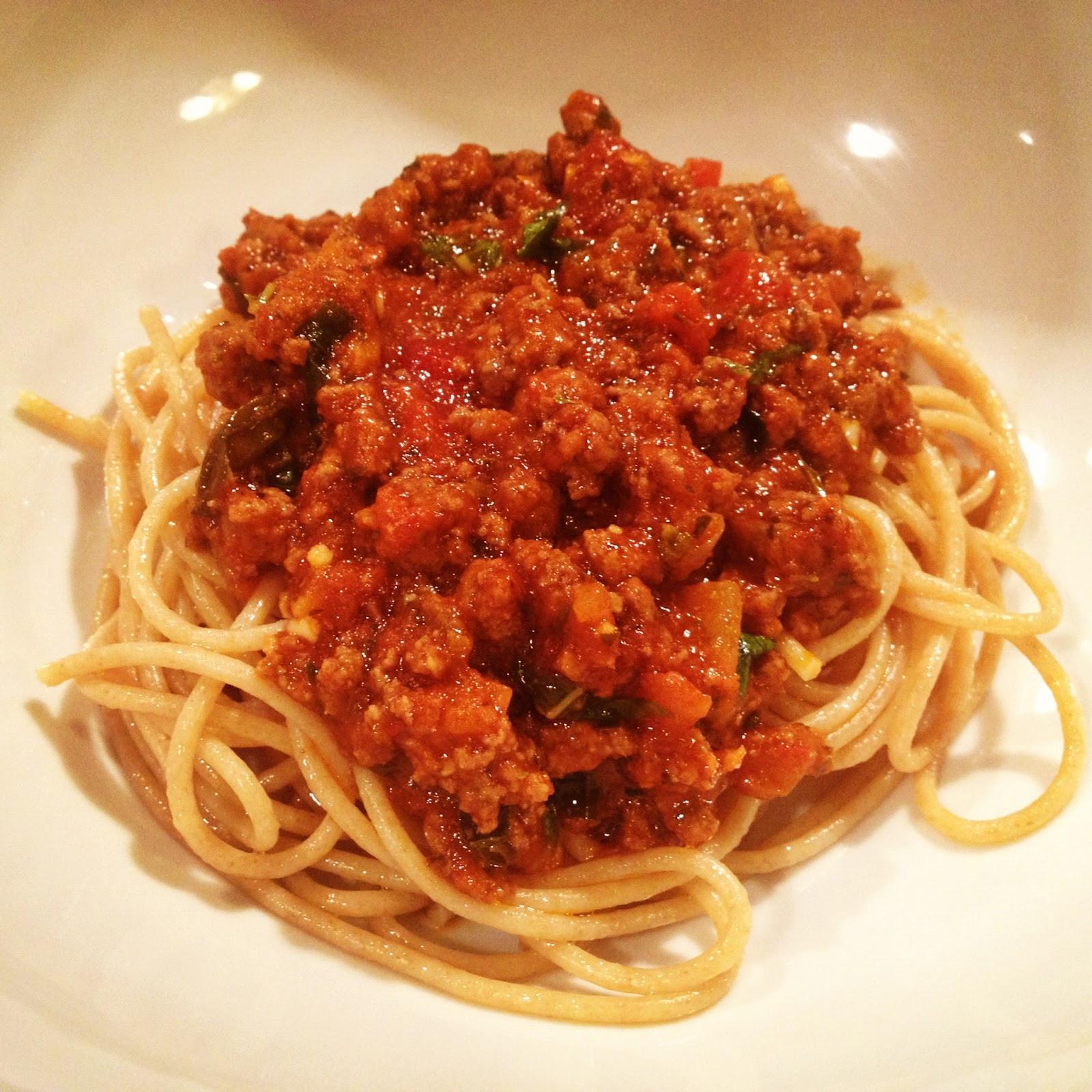Healthy Spaghetti Recipes  Healthy Spaghetti Recipe SixPackSmackdown