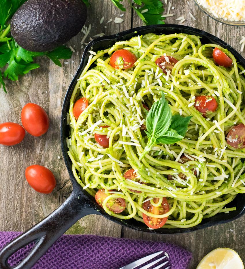 Healthy Spaghetti Recipes  Healthy Avocado Pasta Fox Valley Foo