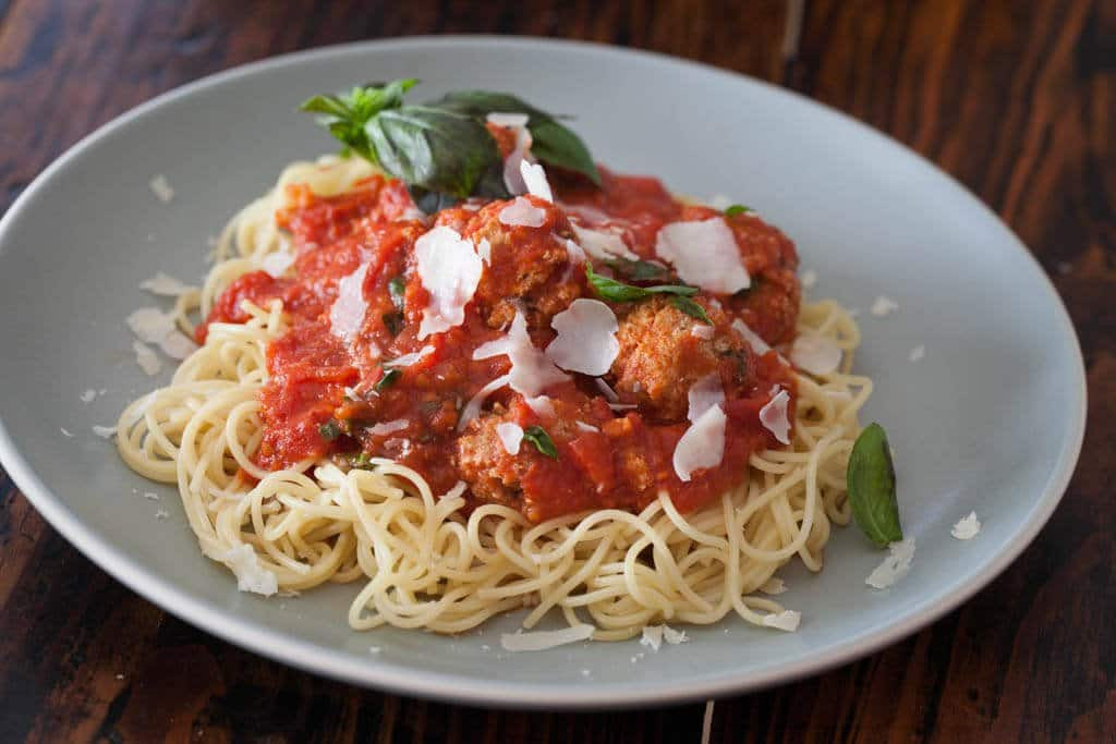 Healthy Spaghetti Sauce  Healthy Spaghetti and Meatballs 2 Secret Ingre nts