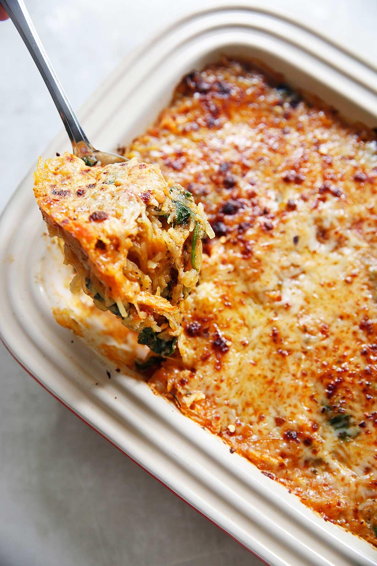 Healthy Spaghetti Squash Casserole  11 How to Cook Spaghetti Squash [Recipes]
