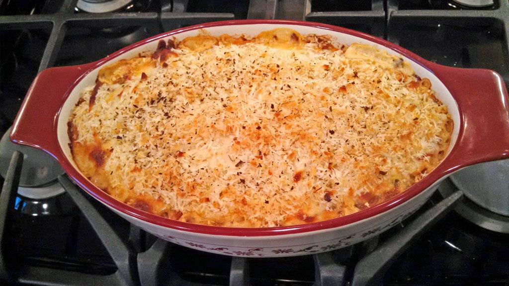 Healthy Spaghetti Squash Casserole  Spaghetti Squash Casserole REVISITED A Meatless Monday