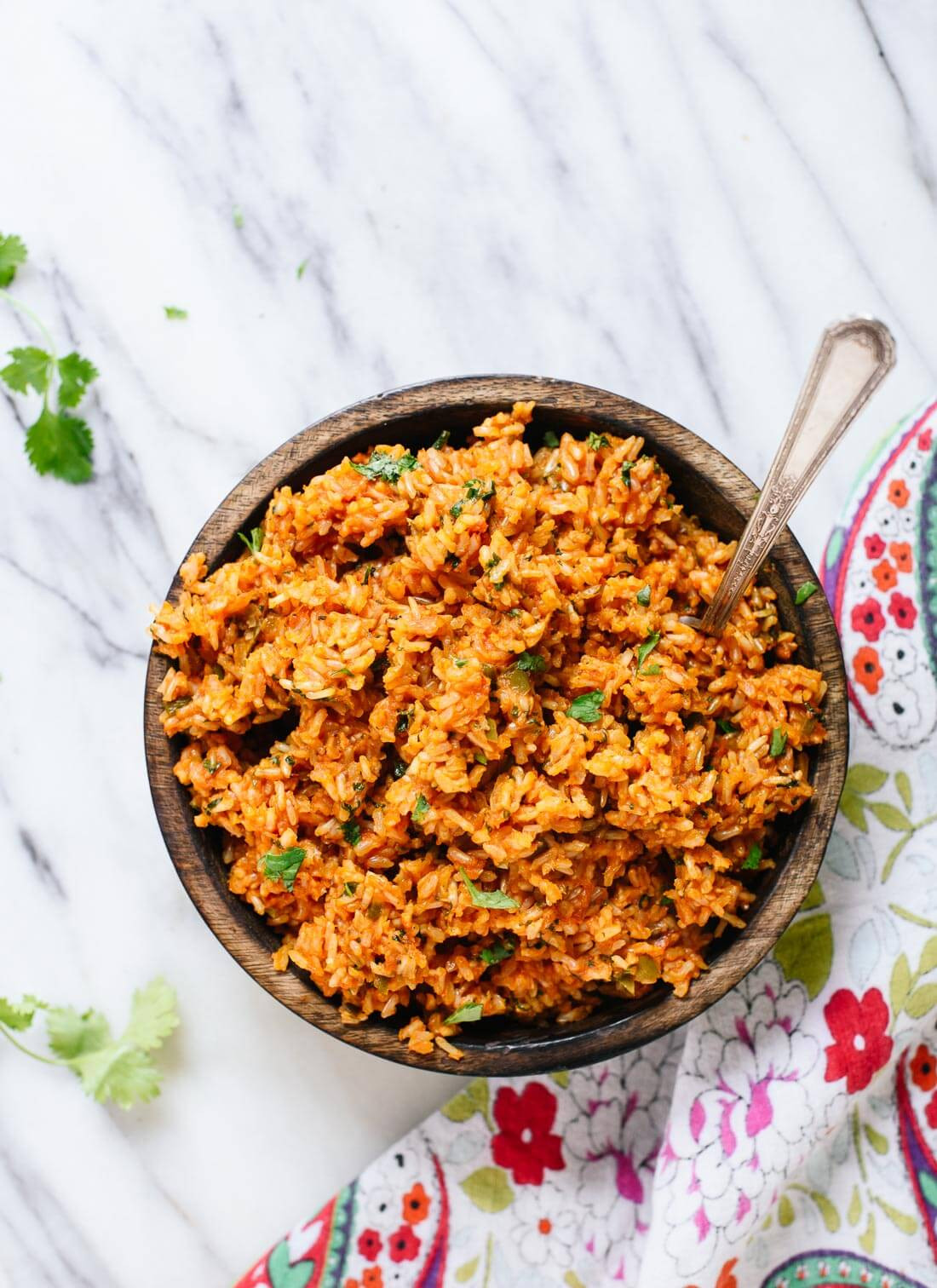 Healthy Spanish Rice  Mexican Brown Rice Recipe Cookie and Kate