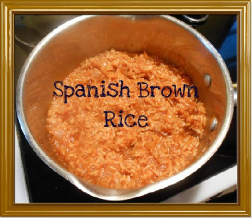 Healthy Spanish Rice  Spanish Brown Rice Recipe Delicious Wholegrain and