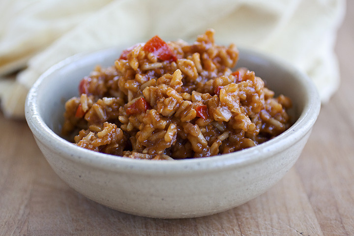 Healthy Spanish Rice  The Cooking grapher Brown Spanish Rice & Healthy