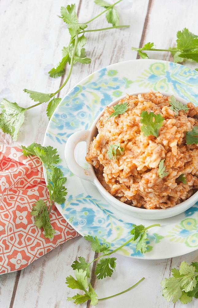 Healthy Spanish Rice  Healthy Spanish Brown Rice