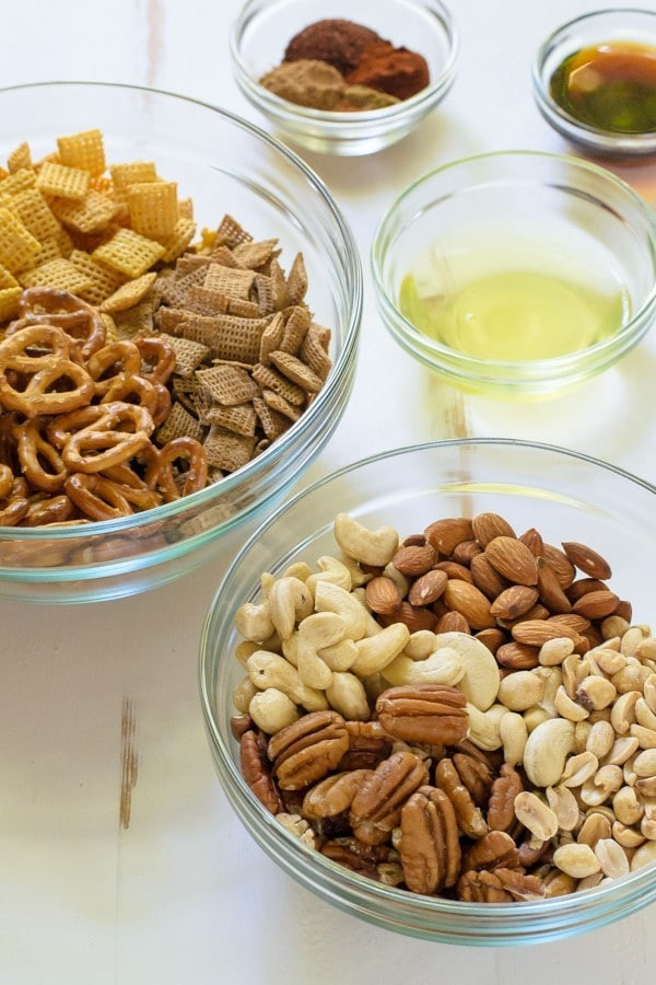 Healthy Spicy Snacks  healthy sweet chex mix recipe