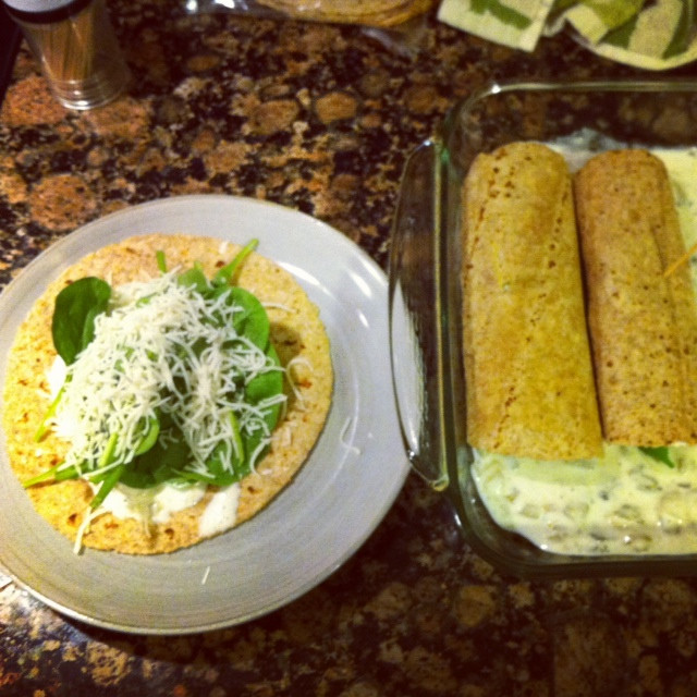 Healthy Spinach Enchiladas  Thoroughly Modern Mom Super Easy and Healthy Spinach