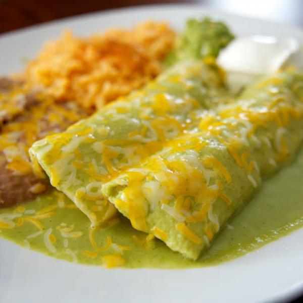 Healthy Spinach Enchiladas  music