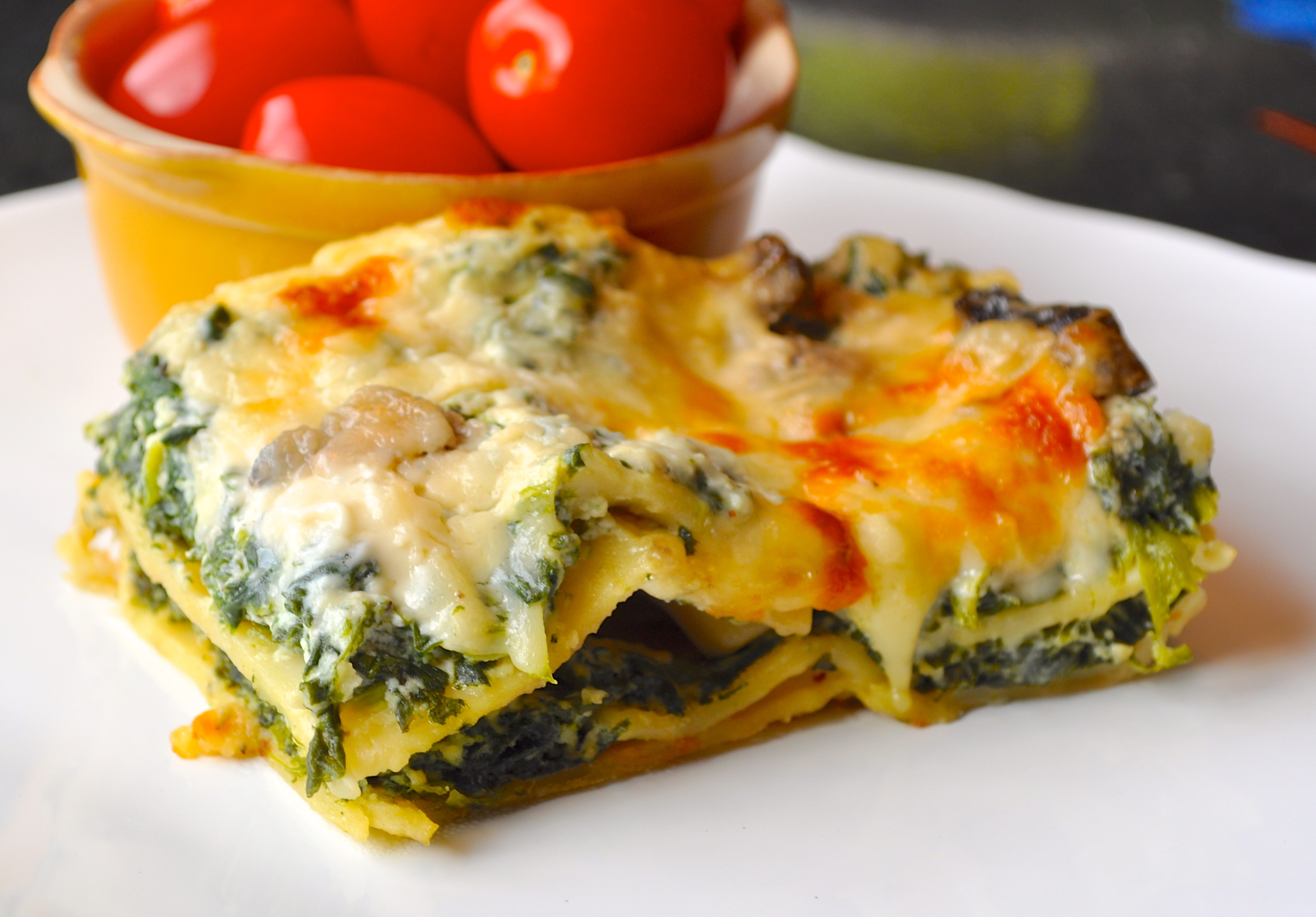 Healthy Spinach Lasagna  The Joy of Everyday Cooking