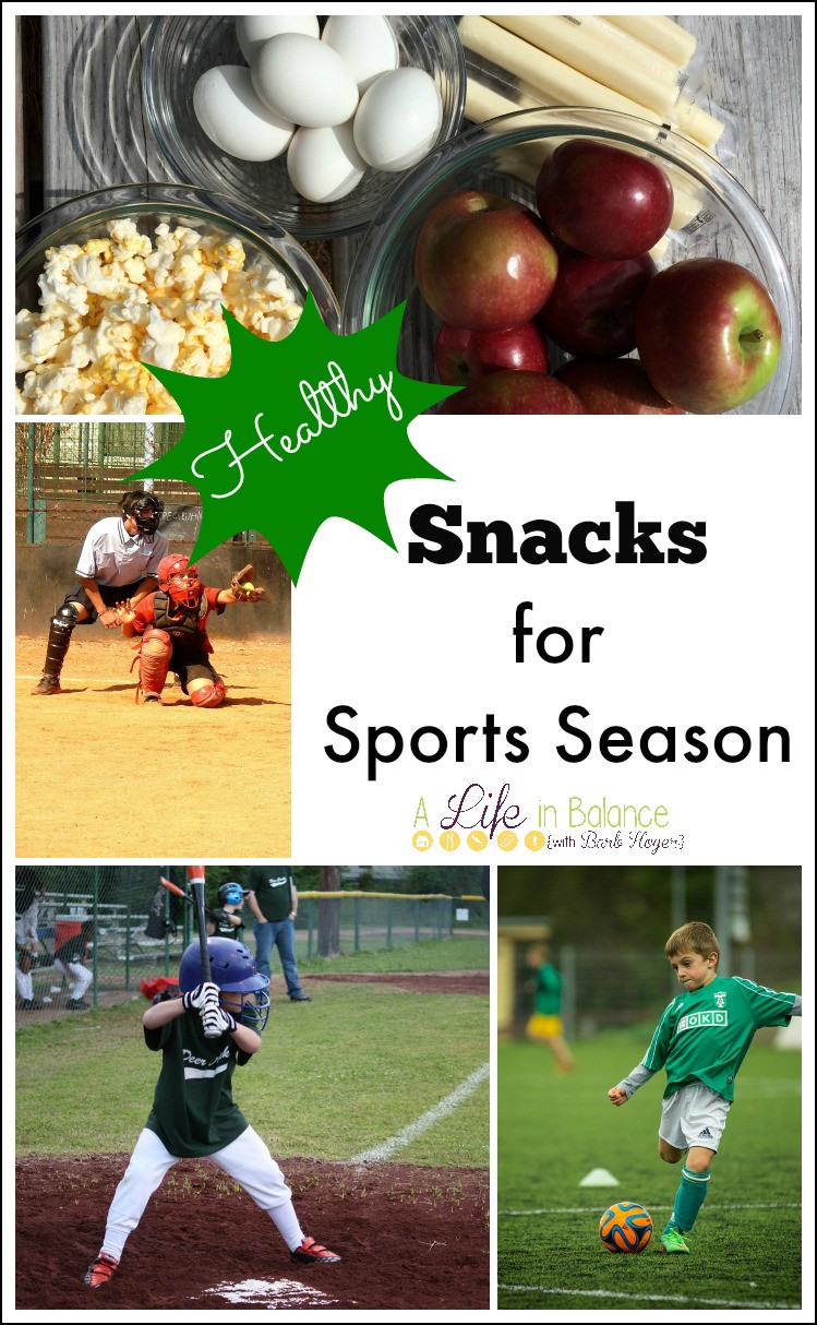 Healthy Sports Snacks  Healthy Snacks for a Group of Kids A Life in Balance by