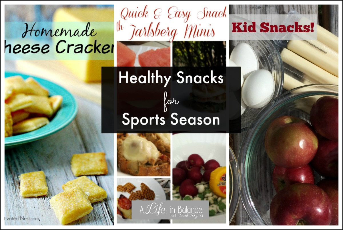 Healthy Sports Snacks  Healthy Snacks for Sports Season A Life in Balance by