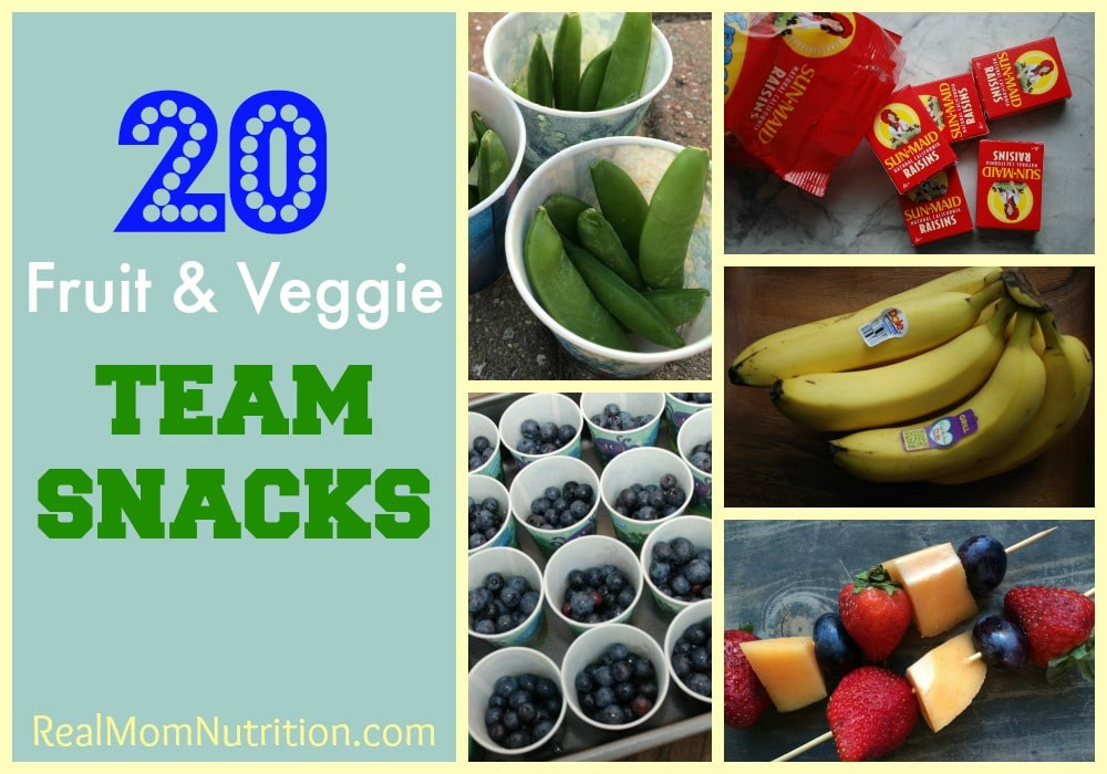 Healthy Sports Snacks  healthy snacks for football players