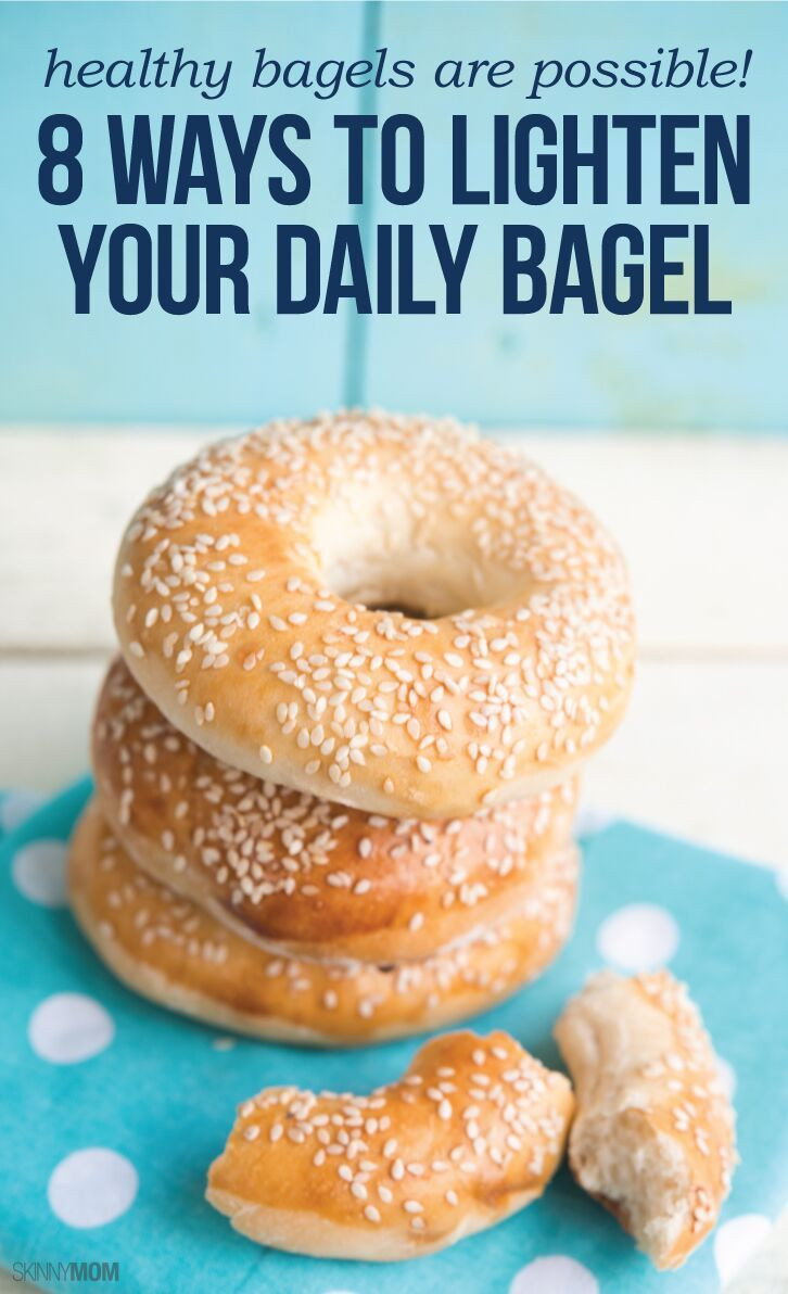 Healthy Spreads For Bagels  Healthy Bagels Exist 8 Ways to Lighten Up Your Morning