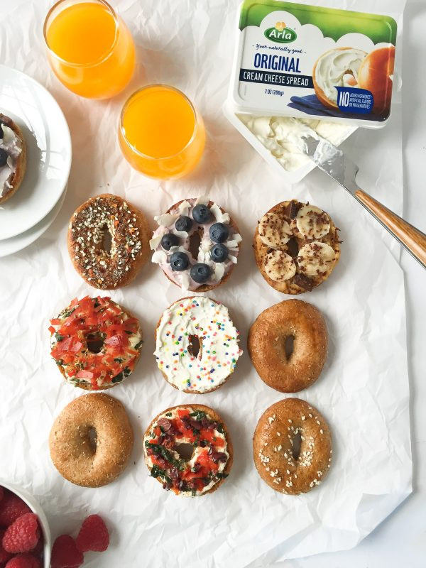 Healthy Spreads For Bagels  5 Delicious and Light Bagel Toppings with Cream Cheese