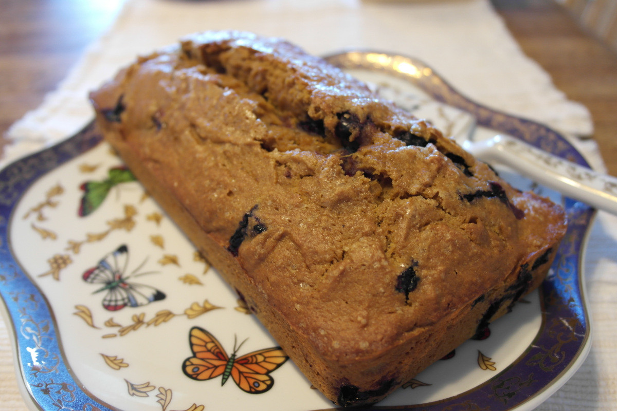 Healthy Squash Bread  Easy and Healthy Fall Breakfast Sweet Blueberry Squash