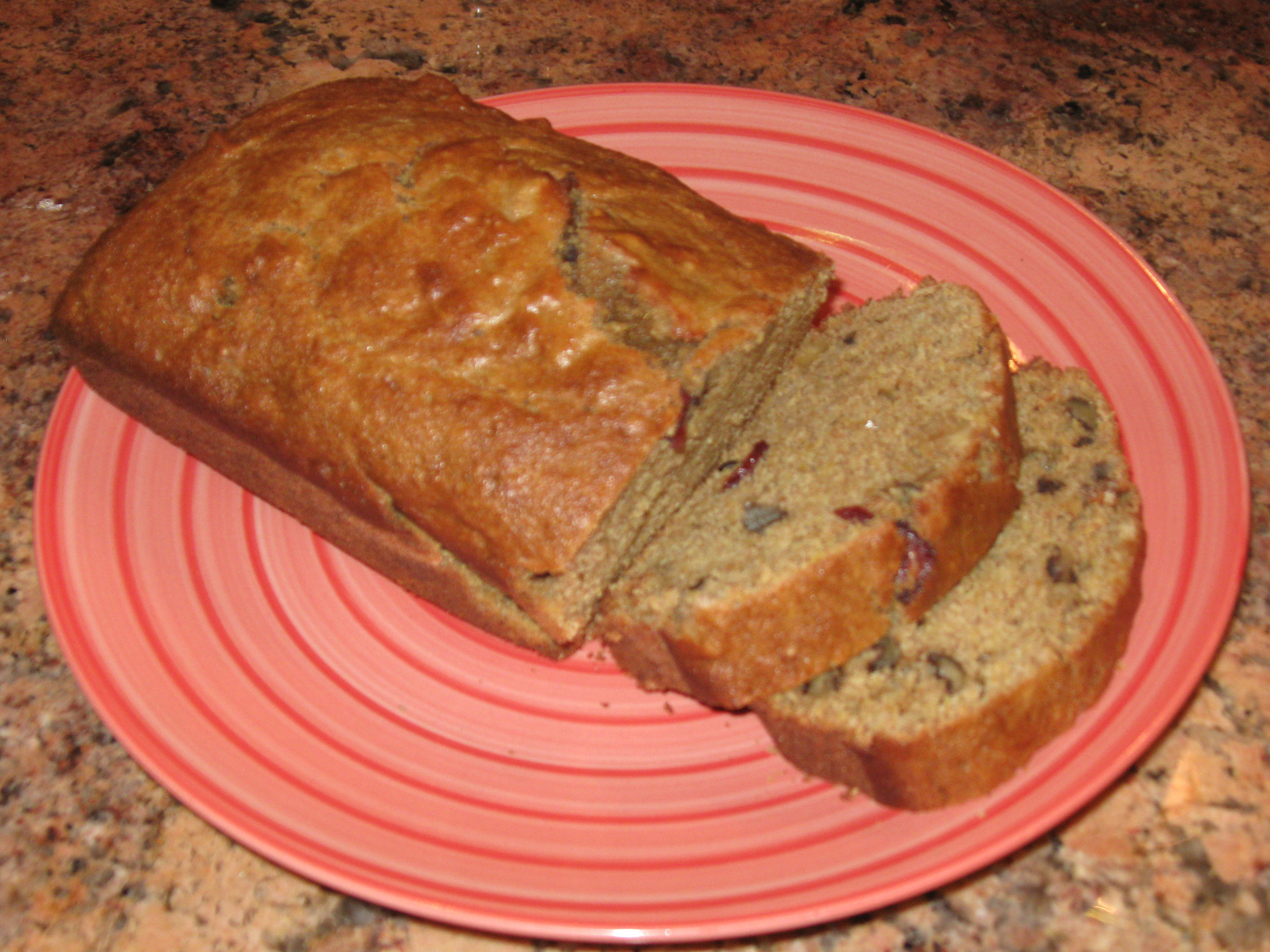 Healthy Squash Bread  Acorn Squash Quick Bread with Cranberries and Walnuts