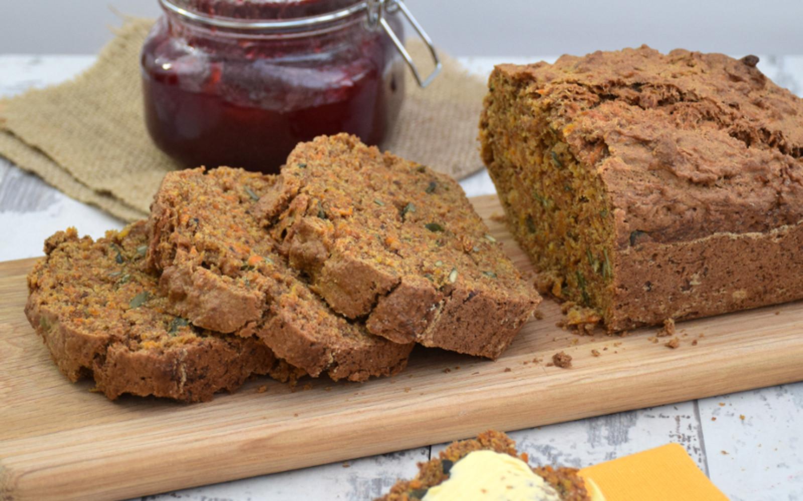 Healthy Squash Bread  Sweet Butternut Squash Bread [Vegan] e Green Planet