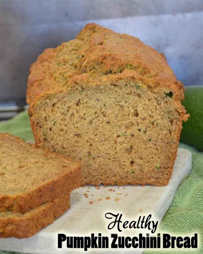 Healthy Squash Bread  Healthy Pumpkin Zucchini Bread