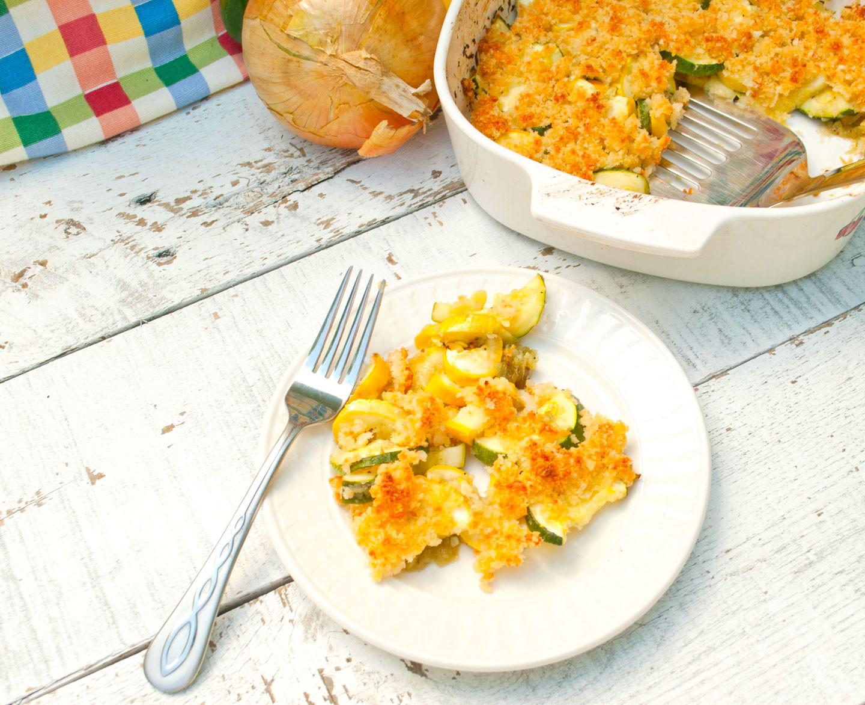 Healthy Squash Casserole  Zucchini And Squash Casserole Healthy