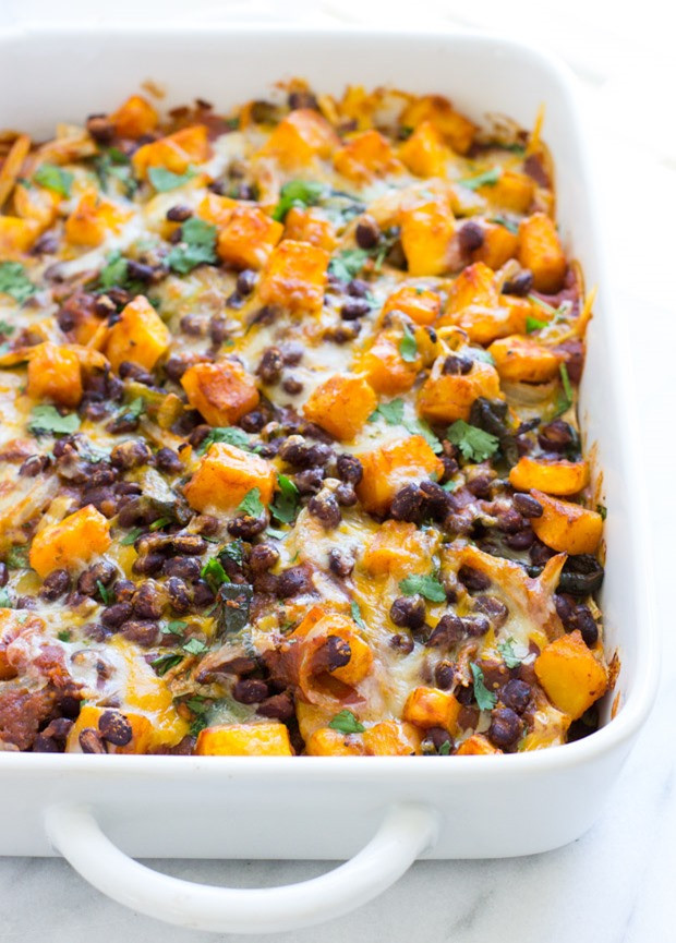 Healthy Squash Casserole  Healthy Ve arian Meal Plan 10 02 2016 The Roasted Root