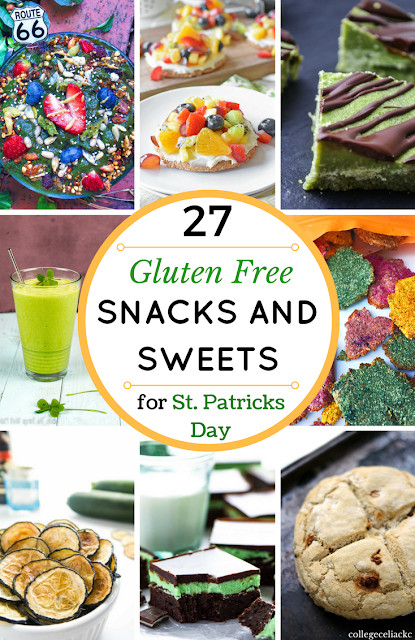 Healthy St Patrick'S Day Desserts  27 Gluten Free St Patrick's Day Snacks and Sweets