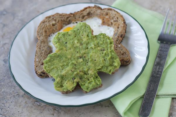 Healthy St Patrick'S Day Desserts  Healthy St Patrick s Day Breakfast Shamrock Avocado Toast