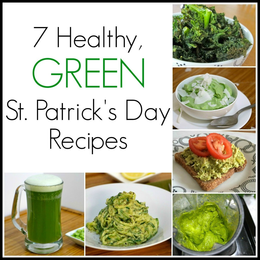 Healthy St Patrick'S Day Desserts  7 Green St Patrick s Day Recipes Including Dye Free