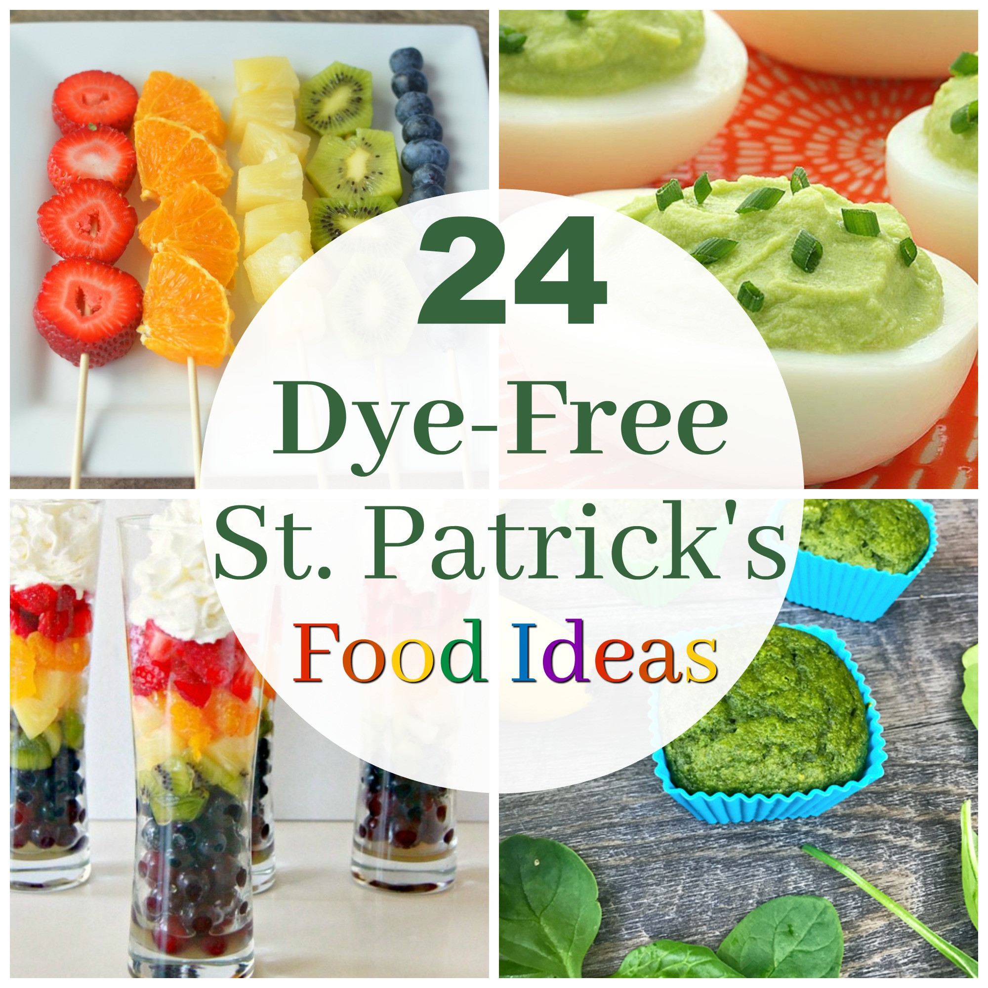 Healthy St Patrick'S Day Desserts  24 Dye Free Ideas for Fun St Patrick s Day Food