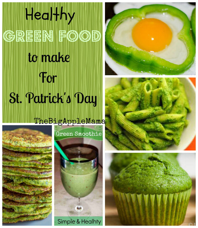 Healthy St Patrick'S Day Desserts  Healthy Green Foods to Make for St Patrick s Day