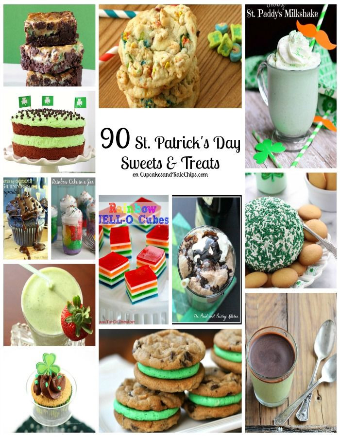 Healthy St Patrick'S Day Desserts  189 best images about St Patrick s Day Ideas and Recipes