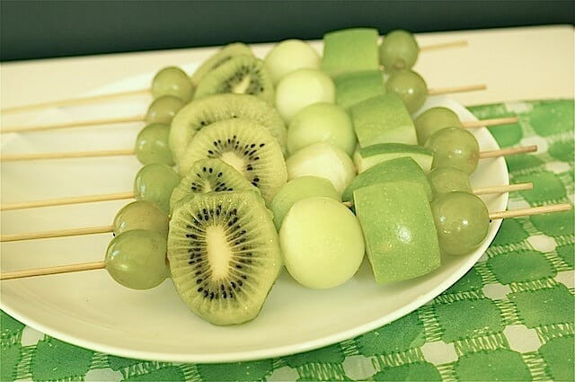 Healthy St Patrick'S Day Desserts  St Patty s Day Fruit Skewers Mom s Kitchen Handbook