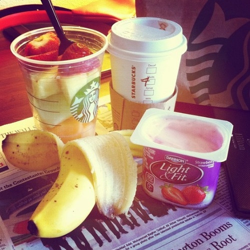 Healthy Starbucks Breakfast  Hotel Breakfast at Starbucks – Simply Taralynn