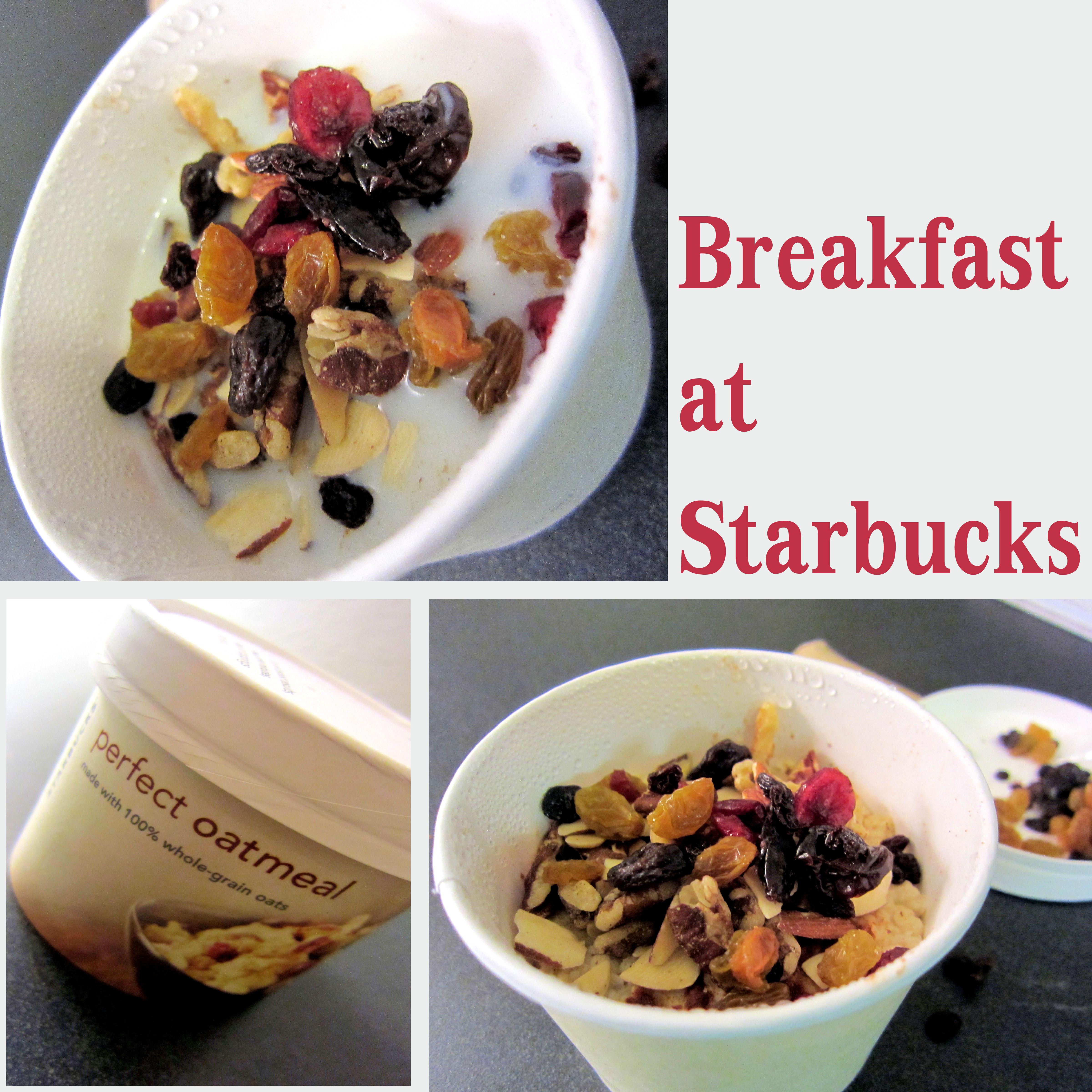 Healthy Starbucks Breakfast  Breakfast at Starbucks