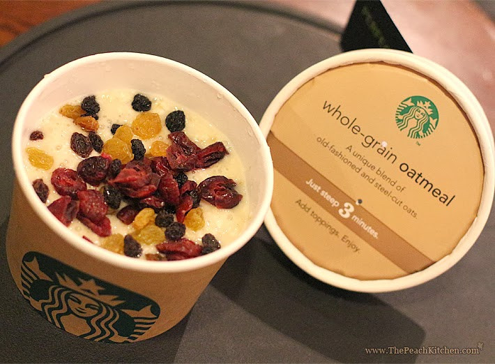 Healthy Starbucks Breakfast  Starbucks New Food Items and Beverages for January 2014
