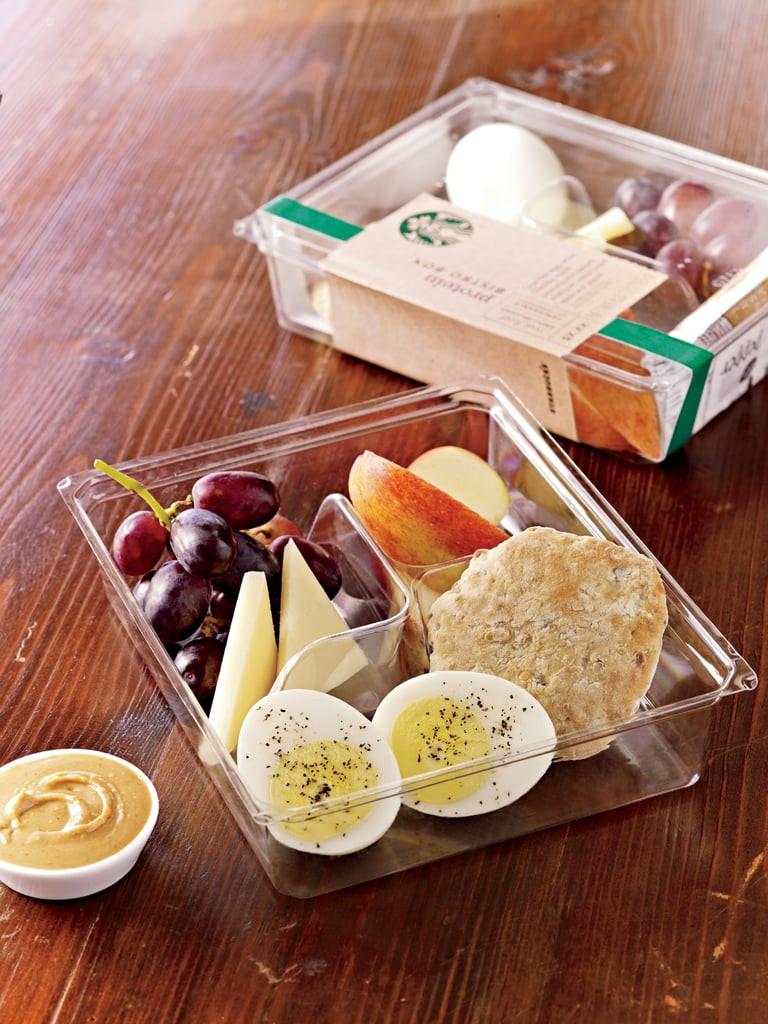 Healthy Starbucks Breakfast  Starbucks Protein Bistro Box