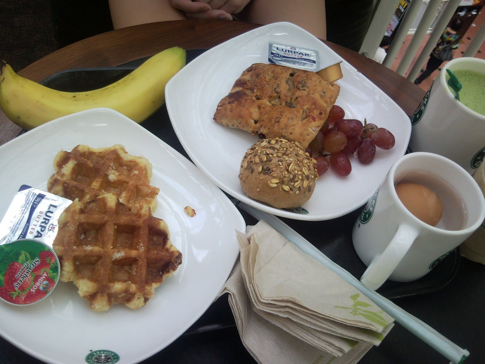 "Healthy Starbucks Breakfast  All about place food coffee and love "" Starbucks"