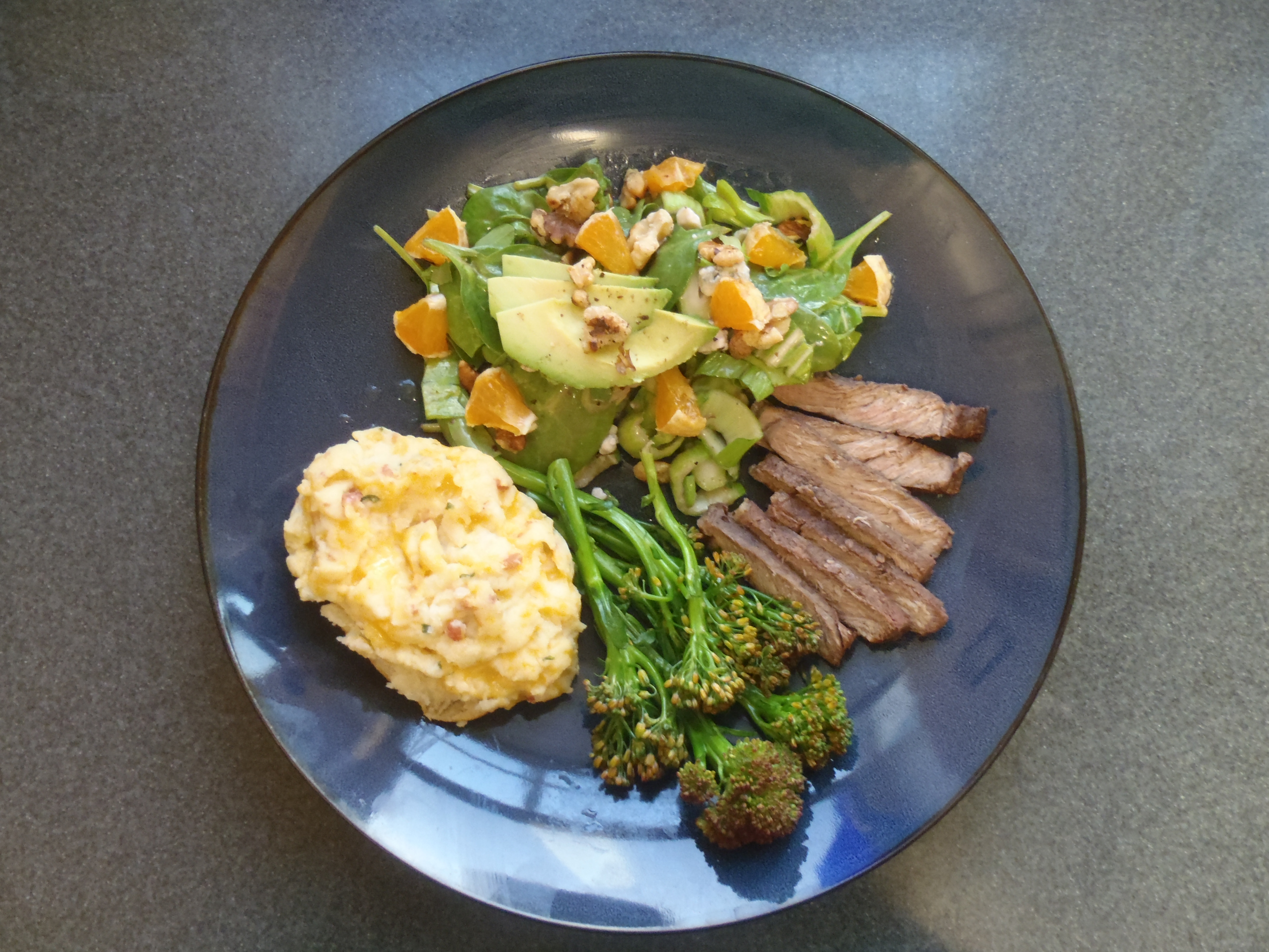 Healthy Steak Dinner  Healthy Steak Dinner