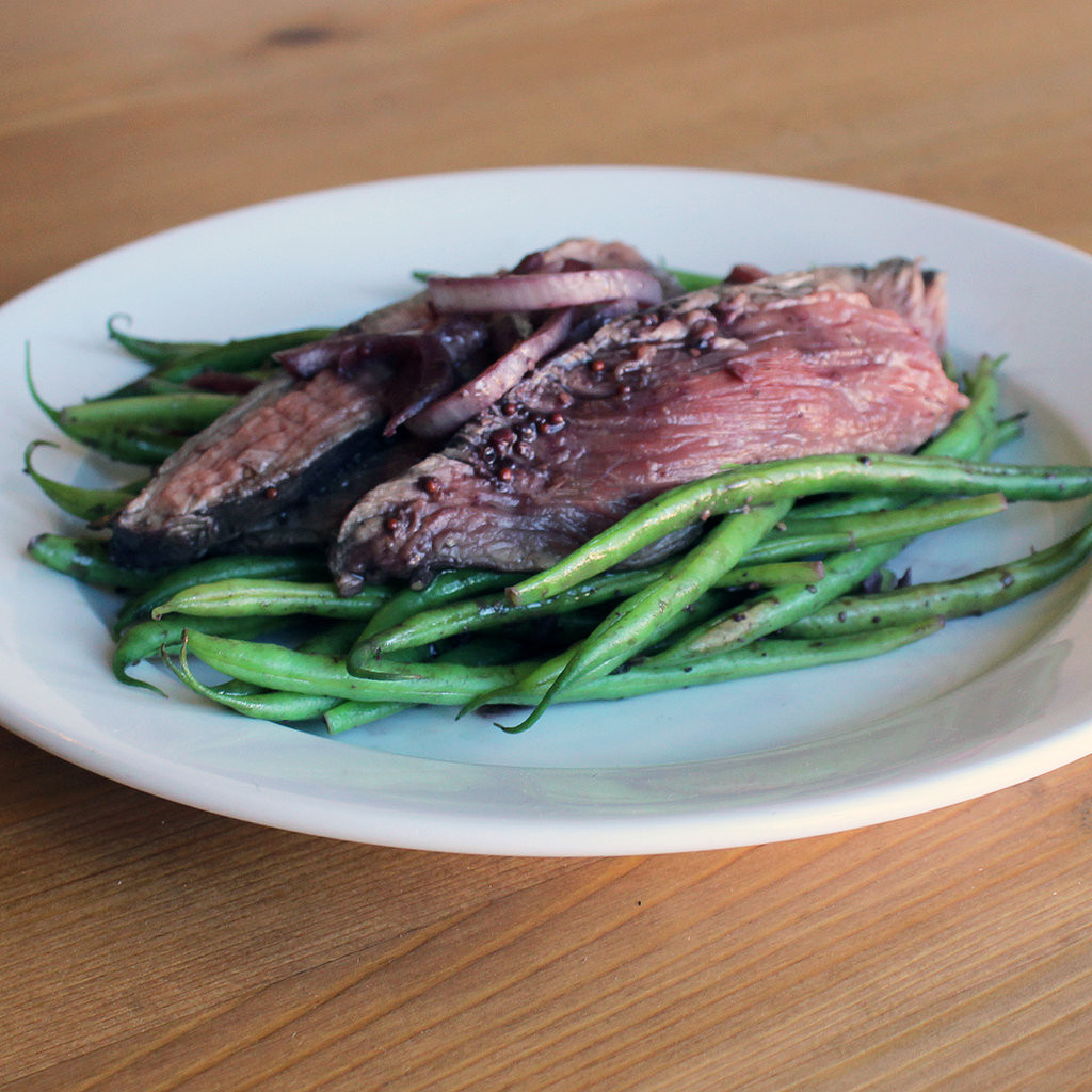 Healthy Steak Dinner  Healthy Flank Steak Dinner