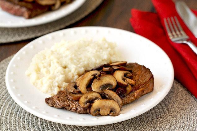 Healthy Steak Dinner  Healthy Steak Recipe with Mushrooms & Mashies