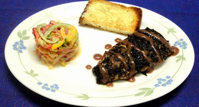 Healthy Steak Dinner  Healthy dinner recipe Herbed chicken steak with potato