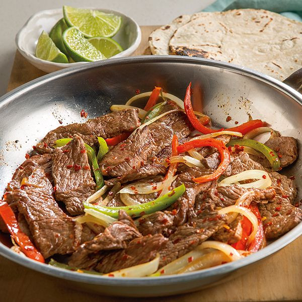 Healthy Steak Fajitas  17 Best images about Healthy Recipes on Pinterest