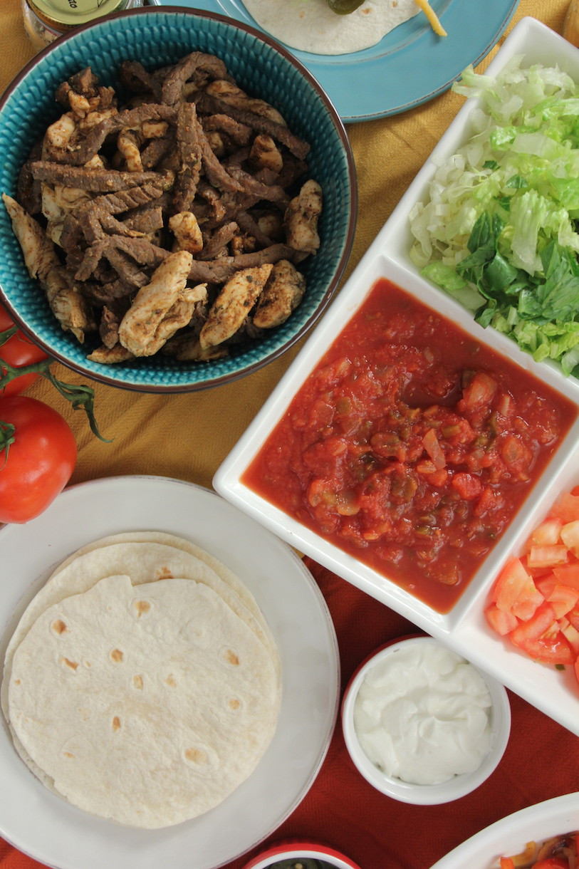 Healthy Steak Fajitas 20 Best Healthy Quick Meals Easy Peasy Fajitas Be Nice or Leave