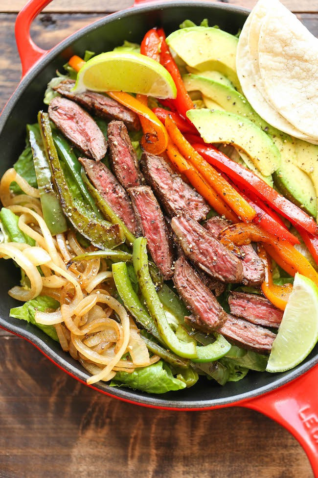 Healthy Steak Fajitas  Quick And Healthy Lunch Ideas That Fit Your Busy Schedule
