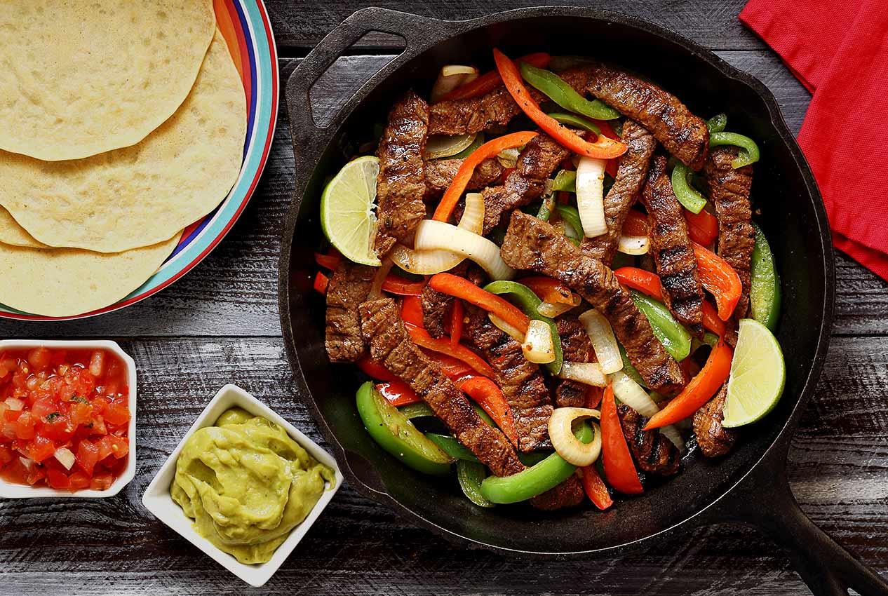 Healthy Steak Fajitas  Paleo Steak Fajitas Recipe