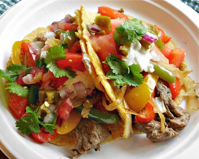 Healthy Steak Fajitas  13 Awesome Memorial Day Recipe Ideas Spaceships and