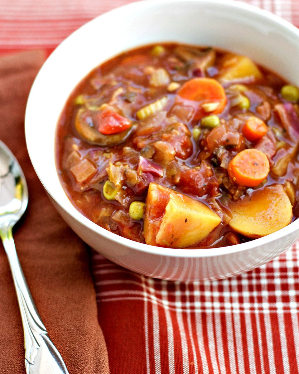 Healthy Stew Recipes  Hearty Ve able Stew Brand New Vegan
